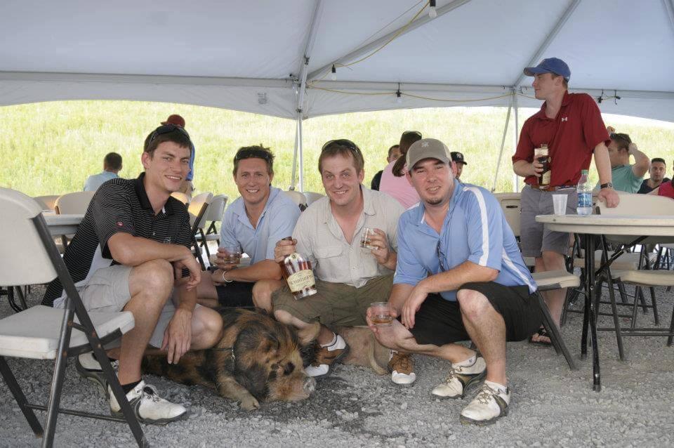 Burlington Young Professional Group Golf Tournament – VICTORY!