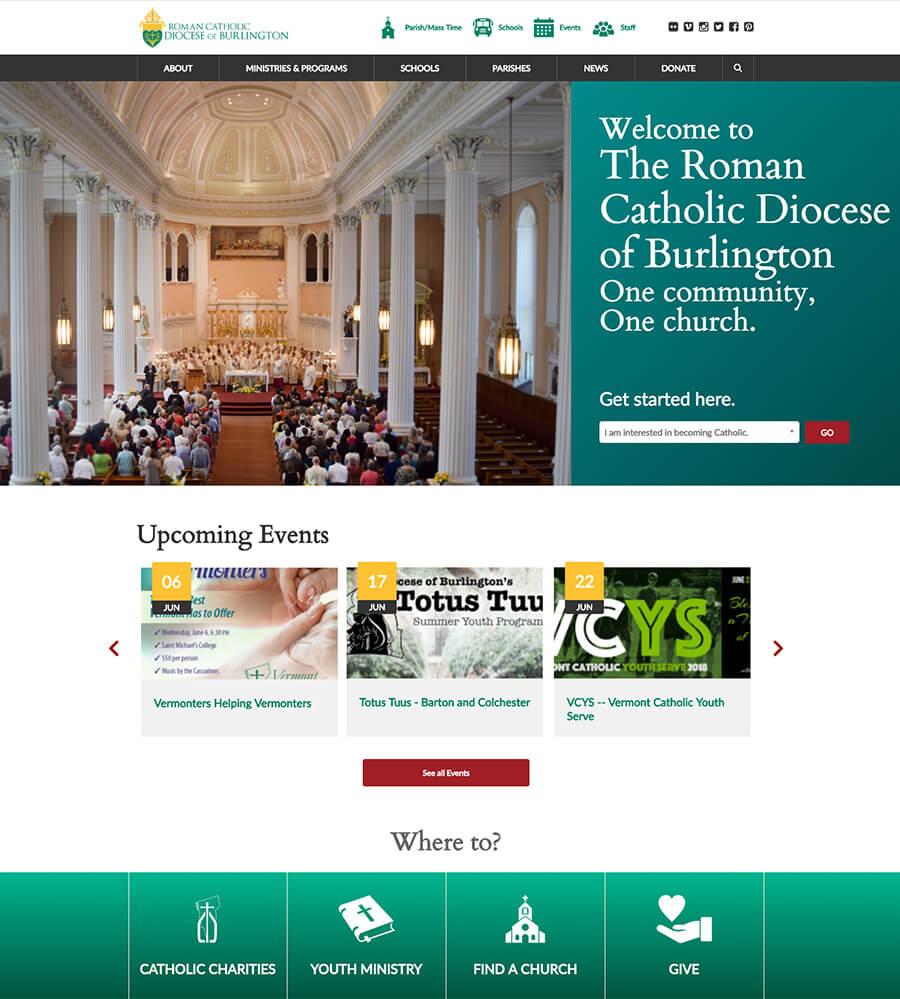 Primary image for Roman Catholic Diocese of Burlington