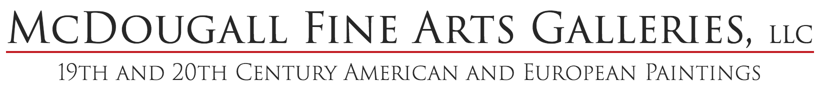mcdougall fine arts galleries logo