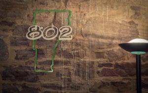 802/Vermont sign