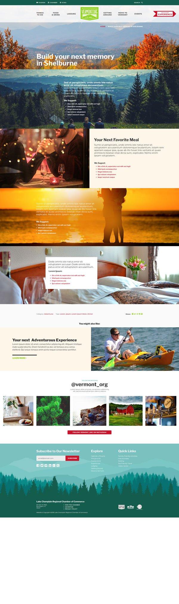 Vermont.org website image