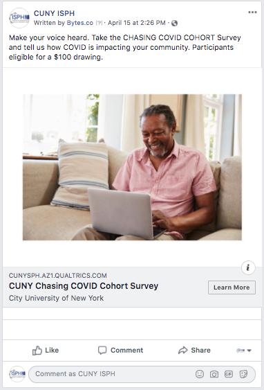 cuny coronavirus survey